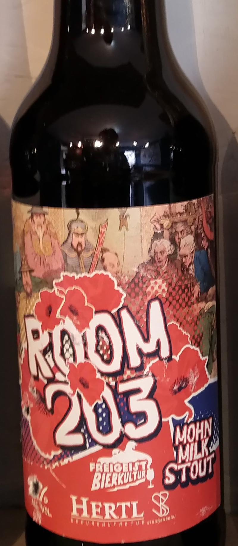 room 203 mohn ale