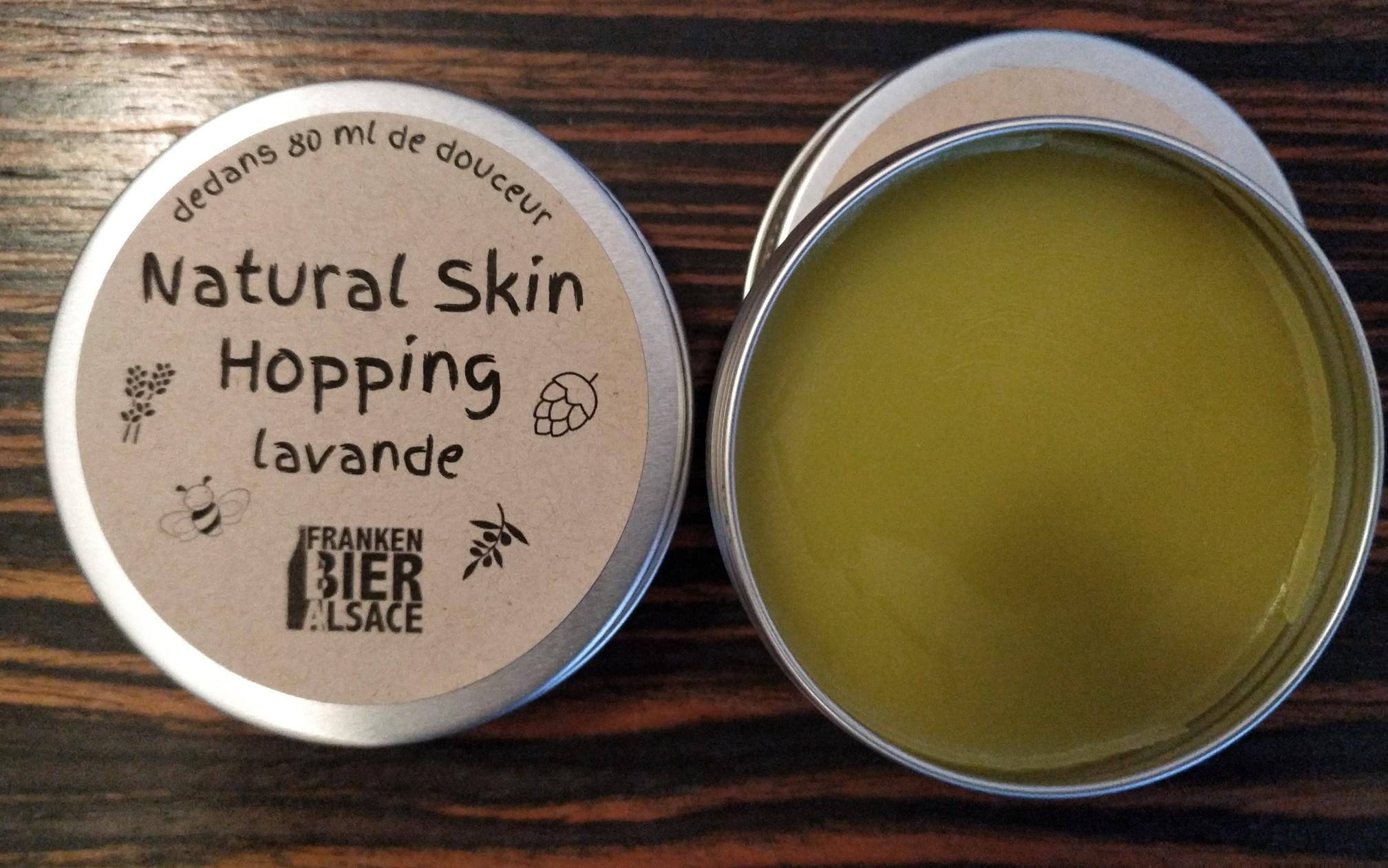 natural skin hopping Lavande